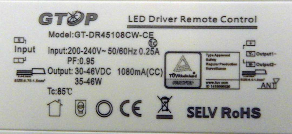 Led-driver Romote Control
