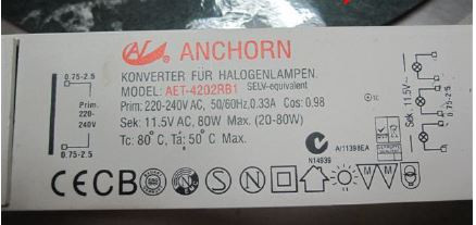 E-TRAFO ANCHORN AET4202RB1
