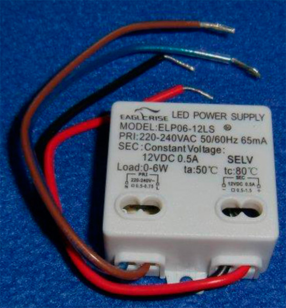 LED-DRIVER EAGLERISE ELP06-12L