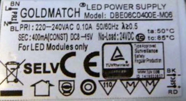 Led-driver Goldmatch