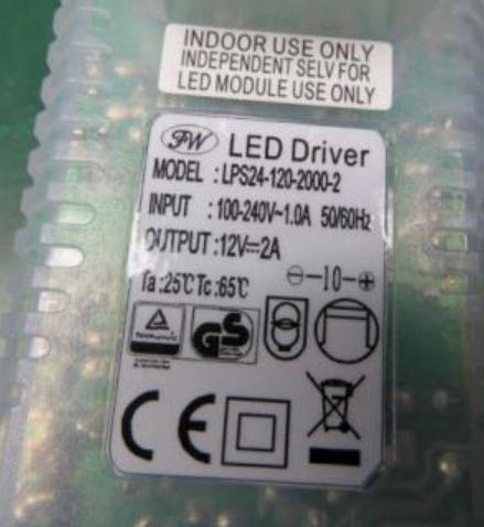 LED-DRIVER FW LPS24-120-2