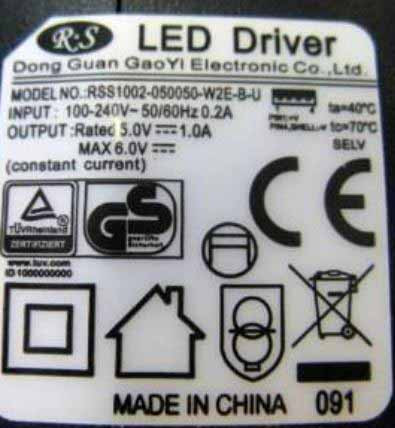 LED-DRIVER RS RSS1002-05005
