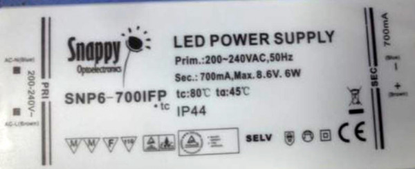 LED-DRIVER SNAPPY SN6-700IFP