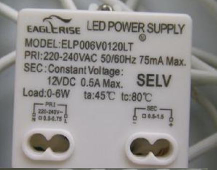 LED-DRIVER EAGLERISE ELP006V