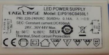 LED-DRIVER EAGELRISE EIP016C04