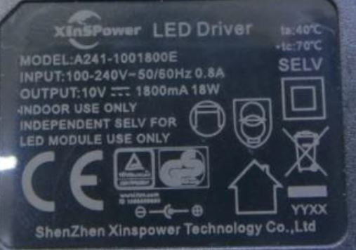 Led-driver Xinspower