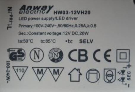 Led-driver Anway Electric